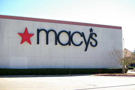 Macys department store onJanuary 11, 2012 in Tyler Texas Editorial