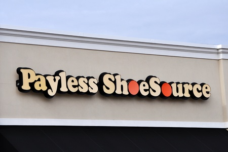 Payless Shoe Source in Tyler Texas January 21, 2012