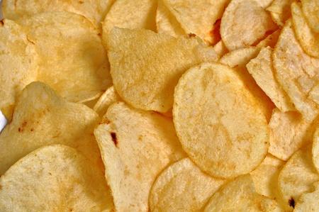 A closeup view of potato's on a plain background. Stock Photo - 12244768