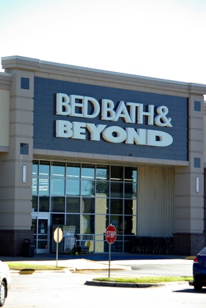 The Bed Bath and Beyond store on a slow Sunday in Tyler Texas 2012