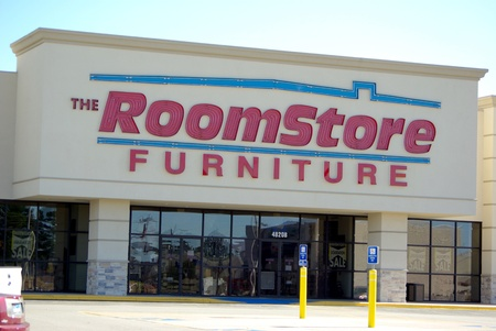 The Room Store building in Tyler Texas on Jan 31, 2012