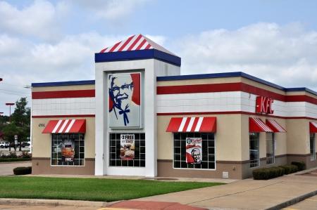The local KFC Restaurant in Tyler Texas. Photo was taken in June 2012.