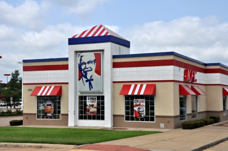 The local KFC Restaurant in Tyler Texas. Photo was taken in June 2012.