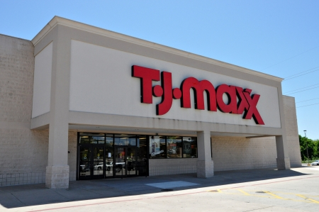 The T.J. Maxx store in Longview Texasis open for business