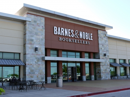 A Barnes and Nobles Book Sellers store in Arlington Texas.