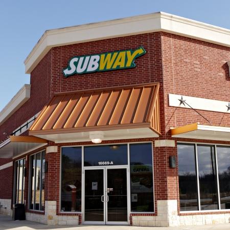 A Subway sandwich shop open in Tyler Texas