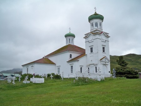 Russian Orthodox Church in Unalaska, AK.