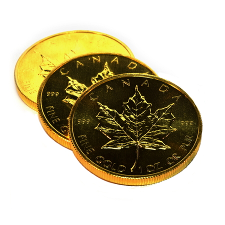 tangible: Gold Bullion Coins, isolated