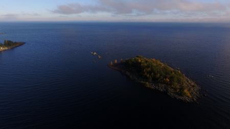 spells: Spells of Rain and Gusty Winds over Lake Superior