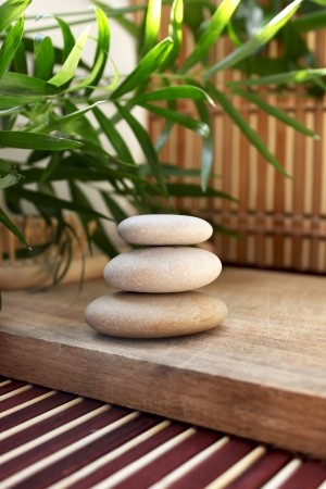 spa stones photo