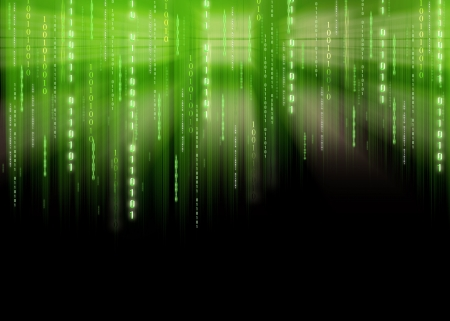 Binary code Banco de Imagens