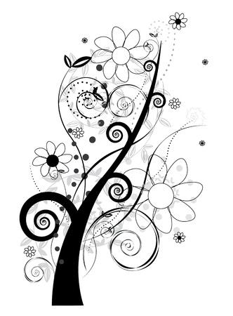 brink: Floral design-vector