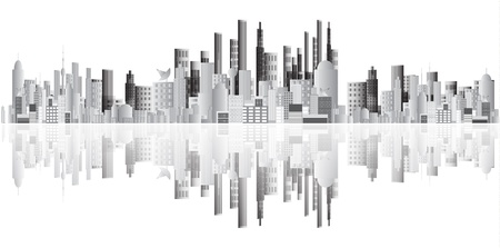 Abstract buildings   Illustration