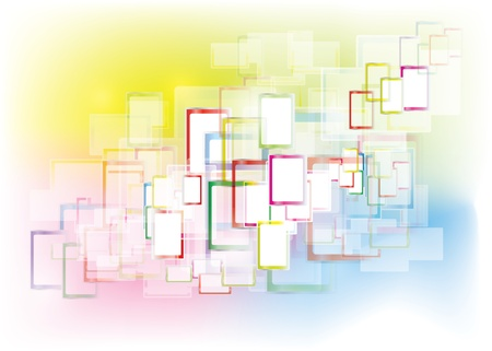 inovation: Abstract rectangles interface