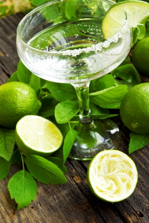 Lime cocktail Imagens