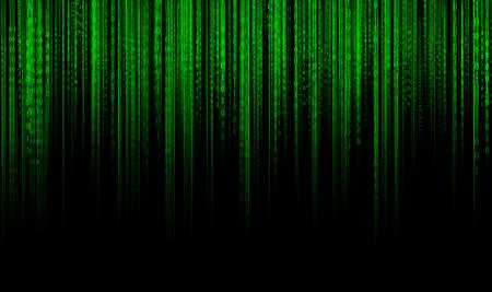 Digital data binary code technology matrix background, data flood conectivity futuristic binary code programming in cyber space, data technology concept