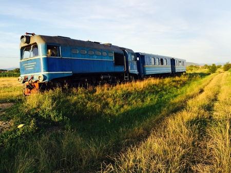 narrow gauge railroads: vintage train