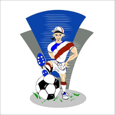 llustration of football
