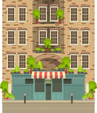 small business building: Townhouse shop