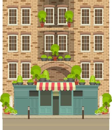 Townhouse winkel