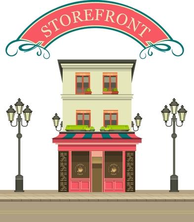 multi storey: Townhouse shop