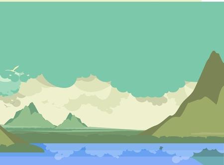 그림 산 강