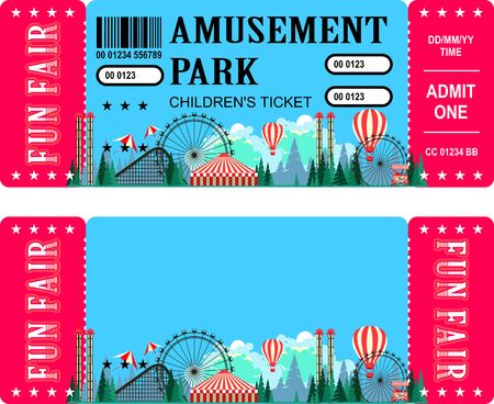 admit: Ticket for the performance and event for the magical show carnival circus amusement park