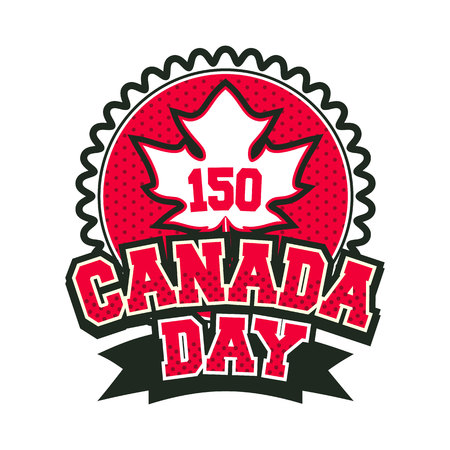 Day canada badge.