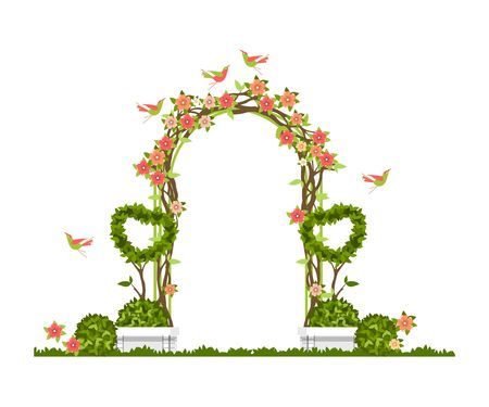 Wedding arch Illustration