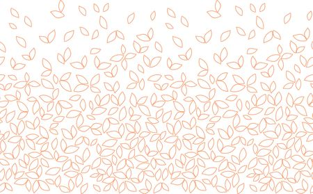seamless leaves pattern Illustration