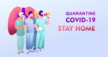 Covid-19 virus strain, a team of doctors warns of the dangers of getting the flu virus