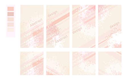 set of abstract design covers 版權商用圖片 - 155780730