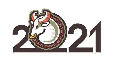 2021 symbol of the year bull