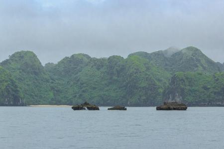 Ha Long Bay in Vietnam 스톡 콘텐츠