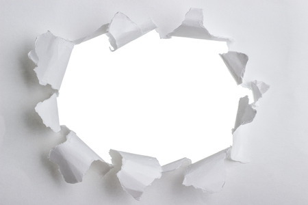 Torn paper with space for your message. An Image of Torn Paper photo