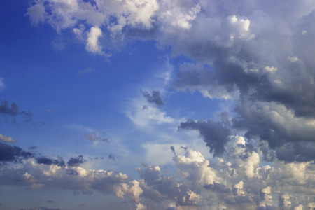 stormy clouds: Dramatic sky with stormy clouds. background