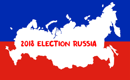 Russian Presidential Election 2018. Election Concept
