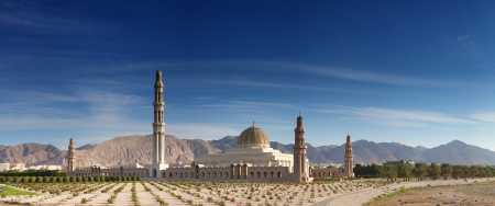 Grand mosque Muscat, Oman photo