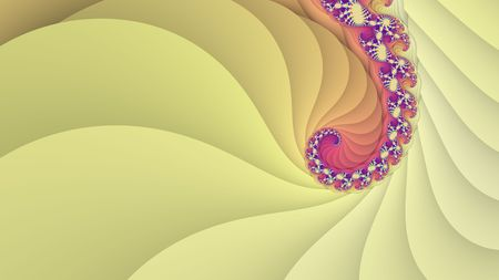 spiral: Abstract spiral fractal background