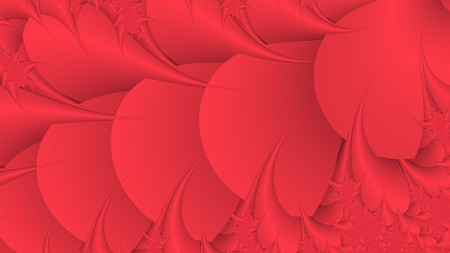 luxuriant: Fantastic red abstract fractal background
