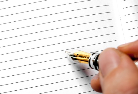 listings: writing or signing on a blank agenda