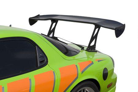 wijzigen: Fragment van de sportieve auto