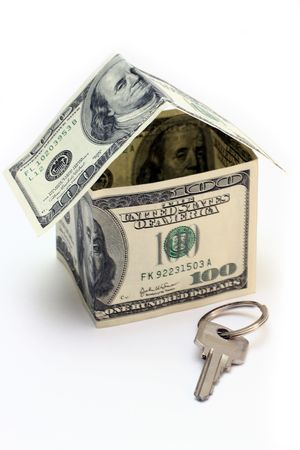 the house made of Dollars Stock Photo - 1796055