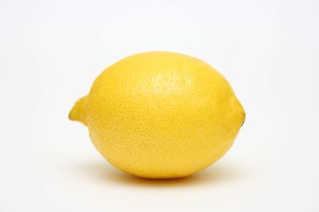 lemony: lemon on white background Stock Photo