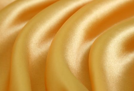 golden fabric can be used as a background Stock Photo - 3816528
