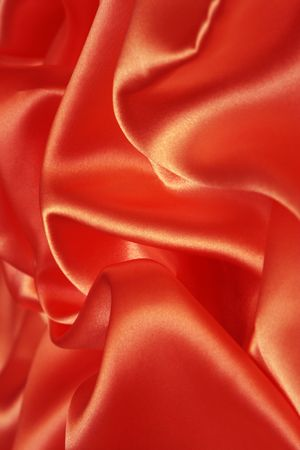 Red silk can be used as a background Stock Photo - 3816533