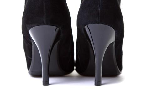 womanish shoes isolated on white background Stock Photo - 4538319