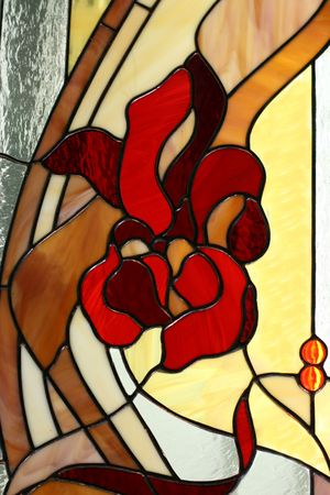 colored window: Stained-glass window
