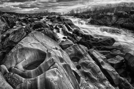포토 맥 강에서 그레이트 폴스 파크