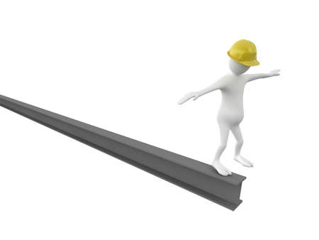 workers in equilibrium  photo